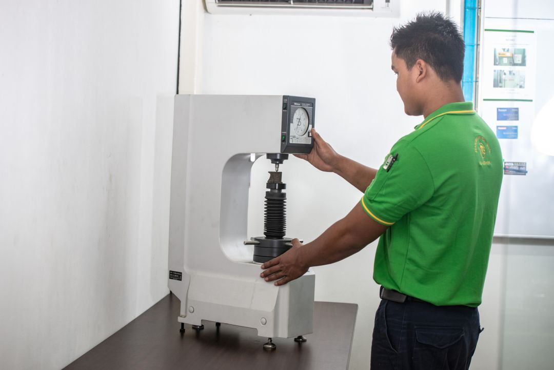 Spare Parts Hardness Test